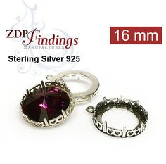 Beading & Jewelry Kits 18x13mm Rose Gold Adjustable Ring Setting W/crystal Rhinestone Fit Swarovski4120 Clear-Cut Texture