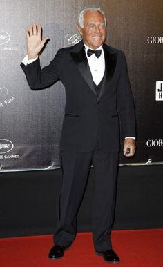Giorgio Armani in perfect Armani Style