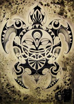 maori art | MAORI TURTLE by ~LARANGEIRAS on deviantART