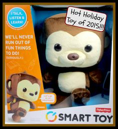 Introducing Smart Toy from Fisher-Price #FisherPrice #SmartToy #HolidayGiftGuide #Technology #ad