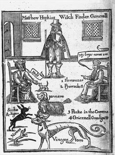 Mathew Hopkins   The Discovery of Witches (1647)