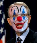 WE PUT CLOWNS IN OFFICE TO DO THE JOBS OF MEN AND THEN WE ARE SURPRISED THEY ACT LIKE CLOWNS.