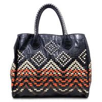 Love the tribal print! Makes this Monica Tote so interesting!