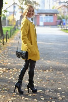 Balkan style by M.: Oversized coats obsession