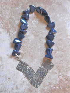 Blue Rocks by MarianJ on Etsy, $45.00