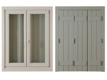 3FOLD FOLFING SHUTTER AND 2FOLD WINDOW by Kalogridis