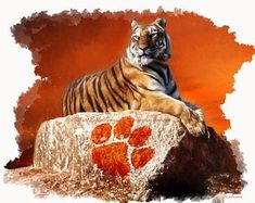"Items similar to Hunter Renfrow Clemson Tigers ""Unstoppable"" Art Print on Etsy Clemson University Football, Best Football Team, Football Art, Clemson Tigers, Auburn Tigers, College Football, Football Memes, Football Stadiums, Auburn University"