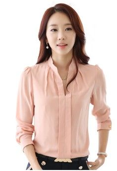 2a165303c91be6 Slim Fit Casual Shirt from Greatnes Trading Corp in pink 1 Slim Fit Casual  Shirts