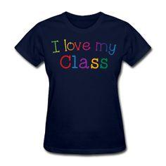 I love my class! http://kreativeinkinder.spreadshirt.com/