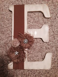 Letter wall/front door decor