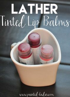 LATHER Tinted Lip Balms Review