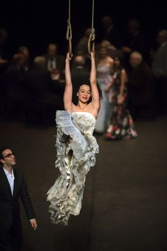 """Tanztheater Wuppertal/Pina Bausch's Viktor is a """"surreal journey infused with humour and absurdity"""" Pina Bausch, Contemporary Dance, Modern Dance, Theater, Dance Magazine, Stage Set, Showgirls, Wonders Of The World, Surrealism"""