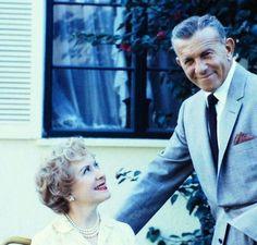 George Burns and Gracie Allen.