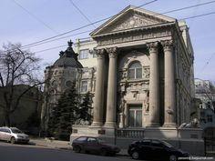 Москва, ул. Пятницкая, одно из красивейших зданий улицы – особняк фон Рекк, 1897г.