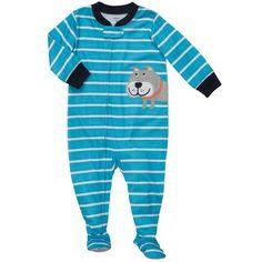 Lindo Pijama Carters! Com sola emborrachada. Tamanhos disponíveis 12, 18 e 24 meses.   Valor - R$ 60,00  Dúvidas sobre peso e altura acesse a tabela: http://pinterest.com/pin/323133341984402947  20133222862013