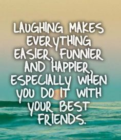 It is good to be able to just laugh sometimes, it is the enemy of our soul that want us to think it's wrong to laugh...