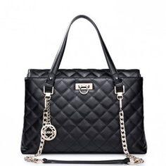 Kobieca torba z łańcuszkiem - Czarna