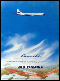 Air France 'Caravelle' Advertisement