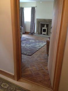 oak panels versailles