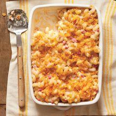 15 Oven Lovin' Baked Pasta Recipes: Baked Smokin' Macaroni and Cheese