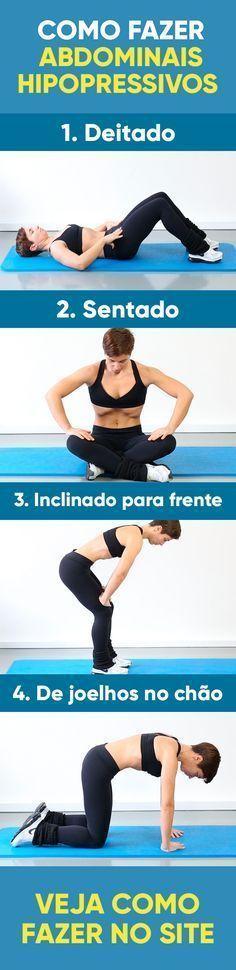 A ginástica hipopressiva, também conhecida por abdominal hipopressivo, é excelente para tonificar os músculos abdominais, sendo especialmente indicados para pessoas que sofrem com dor nas costas e não podem fazer os abdominais tradicionais e no pós-parto.