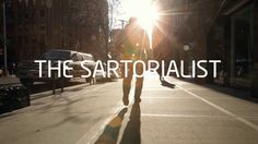 The Sartorialist. For the launch of Intel's new 2nd Generation Core processors, we created the Visual Life campaign. Opening with the Invita...
