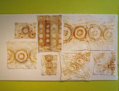 Jennifer Coyne Qudeen - rust dyeing