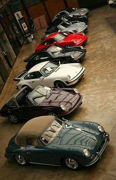 Porsche fanciers wet dream
