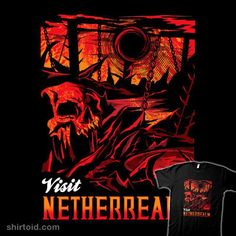 """Visit Netherrealm"" by arace Inspired by Mortal Kombat Mortal Kombat, Indie, Movie Posters, Inspiration, Shirts, Art, Ideas, Biblical Inspiration, Art Background"