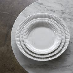 Hammershøi is the obvious everyday tableware, yet so elegant that it can serve as that special detail on a beautifully set table for festive occasions.