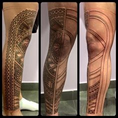 Work in progress Of a wonderful samoan leg tattoo! Tattoo Artist : One Of The best in The world Raniero Patutiki !! Solo a mano libera!  Buona domenica Fans con questo magnifico pezzo da guerriero! Boooom beeeebe!  Tatuaggio etnico http://www.subliminaltattoo.it/prodotto.aspx?pid=02-TATTOO&cid=18  #subliminaltattoofamily   #ranieropatutiki   #tattooartist   #tattoo   #tatuaggio   #samoantattoo