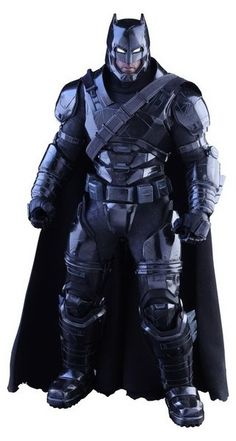 FIGURA HOTTOYS BATMAN ARMORED BLACK 33 CM