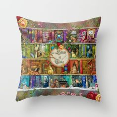 A Stitch In Time Throw Pillow by Aimee Stewart - Cover x with pillow insert - Indoor Pillow Throw Cushions, Couch Pillows, Outdoor Throw Pillows, Designer Throw Pillows, Down Pillows, Accent Pillows, Fluffy Pillows, Pillow Design, Pillow Inserts