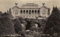 The Military Museum in Carol I Park, 1937, postcard