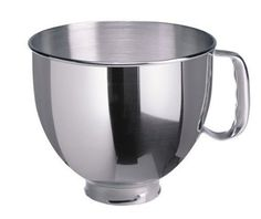 Kitchenaid K5THSBP 5Qt. Stainless Steel Replacement Bowl: Amazon.com: Kitchen & Dining ($32.15) Could use 2-3 of these.