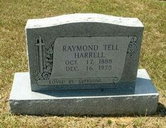 Raymond Tell Harrell