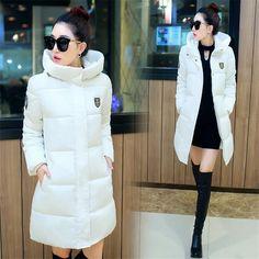 $30.97 (Buy here: https://alitems.com/g/1e8d114494ebda23ff8b16525dc3e8/?i=5&ulp=https%3A%2F%2Fwww.aliexpress.com%2Fitem%2FWomen-winter-coats-2016-New-Long-Down-jacket-Elegant-Female-Cotton-jacket-daunenjacke-frauen-camperas-mujer%2F32735231949.html ) Women winter coats 2016 New Long Down jacket Elegant Female Cotton jacket daunenjacke frauen camperas mujer abrigo winter parkas for just $30.97