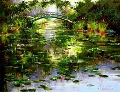 Giverny (2007) - Giclee on Canvas