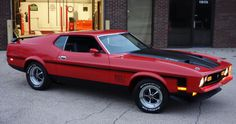 Bright Red 1971 Mustang Mach 1 Show Winner Review