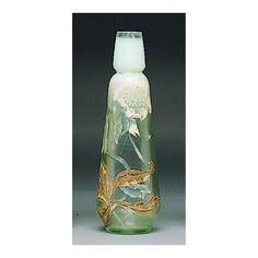 An Emile Galle enameled cameo glass vase: Tempus Stella, circa 1900 | Lot | Sotheby's
