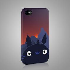My Neighbor Totoro: Design 3 iPhone and Samsung Phone Case