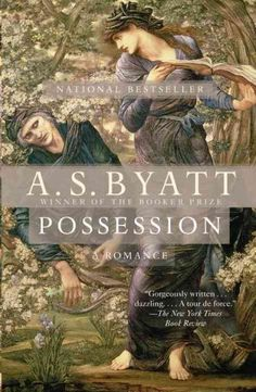 I stumbled across A. S. Byatt's  Possession  on a remainder table in spring 1992. Having just finished the first year of an MBA, I needed to leave behind my forced immersion in the universe of spreadsheets and PowerPoint. What better time to be seduced by a book with a lush and swirling image in blue and gold from an Edward Burne-Jones painting on its cover?