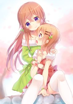 [Kawaii]The Hoto Sisters [Gochuumon wa Usagi Desu ka??]