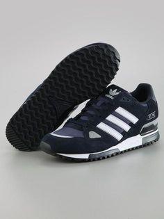 Adidas ZX 750 Night Navy White Dark Navy  #Adidas #Sneaker #Sneakers #ZX750