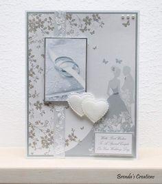 Wedding Cards, Stampin Up, Frame, Home Decor, Weddings, Cards, Wedding, Wedding Ecards, Picture Frame