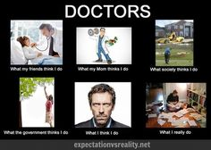 58 Ideas For Medical Doctor Humor Funny Medicine Medical Students, Medical School, Nursing Students, Medical Memes, Funny Medical, Doctor Humor, Doctor Funny, Medical Pictures, Expectation Vs Reality