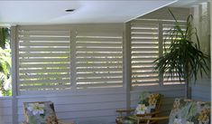 Outdoor Aluminium Plantation Shutters Constructed of Aluminium which is commonly used in the Aviation industry. Exterior Window Shutters Into Blinds Melbourne 24 25 26 Sliding Glass Door Shutters, Window Shutters Exterior, Outdoor Shutters, Outdoor Blinds, Outdoor Rooms, Outdoor Walls, Privacy Wall On Deck, Privacy Walls, Privacy Screens
