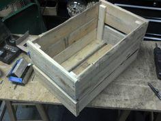 Crate made from reused pallet wood by adamVA, via Flickr