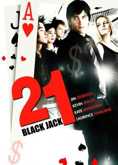 If you've ever card counted at blackjack in a casino environment, you know there are a host of problems that will keep you from winning. Discover the winning secret to beating the dealer without counting cards. Kevin Spacey, Jack Audio, Jack Black, Movies Box, Movies And Tv Shows, Love Movie, Movie Tv, Casino Bet, Jim Sturgess
