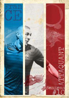 Benzema #10 by Murilo Messias de Camargo, via Behance
